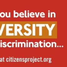 Diversity over Discrimination