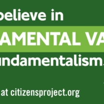 Fundamental Values over Fundamentalism