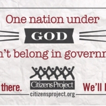 God doesn't belong in government