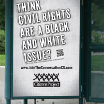 Think Civil Rights are a Black and White Issue
